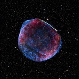 Supernova Remnant SN1006, Composite Image Photographic Print