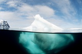 Antarctic Iceberg, Split View Prints by Louise Murray