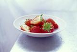 Strawberries Photographic Print by David Munns