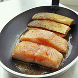 Salmon Fillets Photographic Print by David Munns