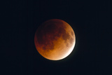 Total Lunar Eclipse, Partial Phase Prints by Chris Madeley
