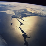 Habomai Rocks And Japan From Space Photographic Print by  NASA
