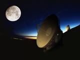 Radio Telescopes Photographic Print by Chris Madeley