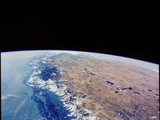 Himalayas, Nepal And Tibet From Space Photographic Print by  NASA