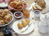 Continental Breakfast Photographic Print by David Munns