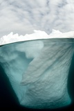 Antarctic Iceberg, Split View Posters by Louise Murray