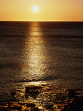 Sunrise Over the Sea Photographic Print by Michael Marten