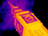Big Ben, UK, Thermogram Posters by Tony McConnell