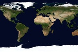 World Map, June 2004 Photographic Print