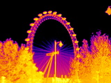 London Eye, Thermogram Photographic Print by Tony McConnell