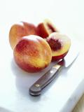 Nectarines Photographic Print by David Munns