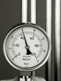 Pressure Gauge Premium Photographic Print by Tony McConnell