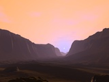 Martian Sunrise, Artwork Photographic Print by Walter Myers