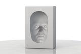 Hollow-face Illusion,artwork Print by David Mack