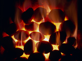 Fire of Smokeless Fuel Photographic Print by Cordelia Molloy