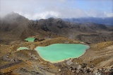 Volcanic Lakes, New Zealand Photographic Print by Cordelia Molloy