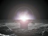 Sunrise on Mercury, Artwork Photographic Print by Walter Myers
