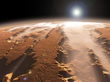Martian Surface, Artwork Photographic Print by Walter Myers
