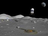 Lunar Shuttle Landing, Artwork Photographic Print by Walter Myers