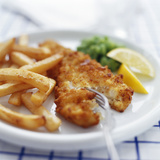 Fish And Chips Photographic Print by David Munns