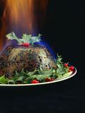 Christmas Pudding Photographic Print by David Munns