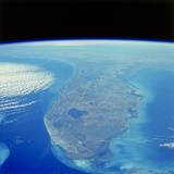 Florida Peninsula Seen From Space Shuttle Photographic Print by  NASA