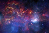 Milky Way Galactic Centre, Composite Posters by  NASA