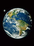 Whole Earth (Blue Marble 2000) Photographic Print by  NASA