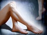 Woman's Legs Photographic Print by Miriam Maslo