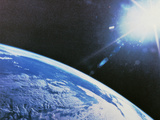 Earth From Space Premium Photographic Print