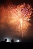 Fireworks Display Photographic Print by Cordelia Molloy