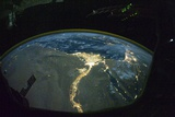 North Africa At Night, ISS Image Prints by  NASA