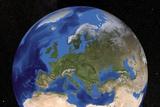Europe, Satellite Image Prints by  NASA
