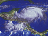 Hurricane Mitch Prints by  NASA