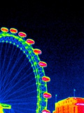 London Eye, Thermogram Premium Photographic Print by Tony McConnell