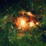 Star-birth Region, Space Telescope Image Photographic Print