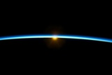 Sunset From Earth Orbit Photographic Print by  NASA