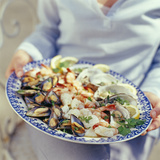 Seafood Plate Photographic Print by David Munns