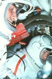 Soviet Cosmonauts Print by Ria Novosti