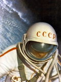 Alexei Leonov, First Space Walk, 1965 Posters by Ria Novosti