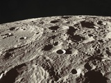 Lunar Surface Photographic Print by  NASA
