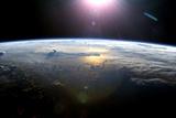 Pacific Ocean From Space, ISS Image Reprodukcja zdjęcia autor NASA