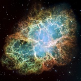 Crab Nebula (M1) Photographic Print by  NASA