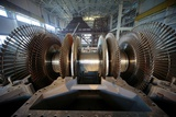 Turbine Rotor Installation Photographic Print by Ria Novosti