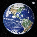 Earth From Space, Satellite Image Photographic Print by  NASA