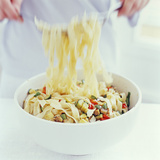 Pasta Salad Photographic Print by David Munns