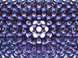 Ice, Molecular Structure Fotografisk tryk af  PASIEKA