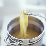 Cooking Spaghetti Photographic Print by David Munns