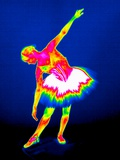 Ballerina, Thermogram Premium Photographic Print by Tony McConnell