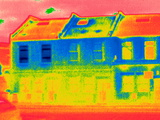 Houses, Thermogram Posters by Tony McConnell